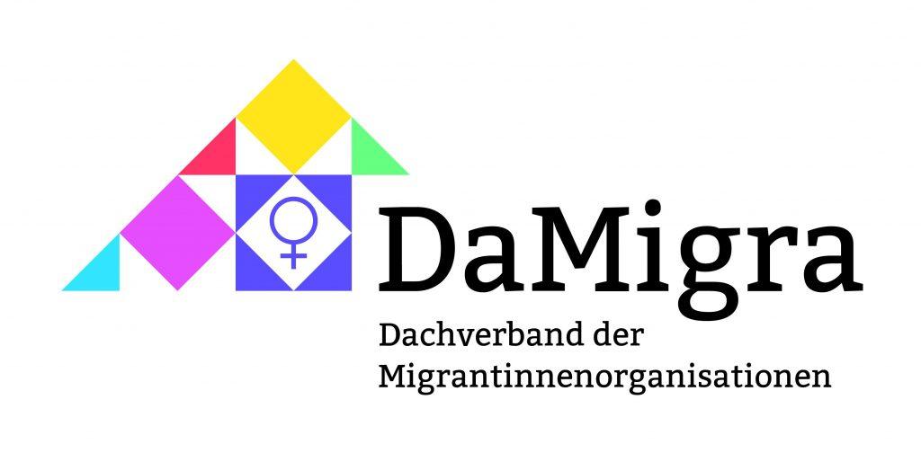 Logo von DaMigra (Dachverband der Migrantinnenorganisationen)